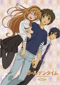 Golden time ❤️ one of the best anime ever i cried in like 5 episodes 😭 Golden Time Anime, Supernatural Theme, Light Blue Eyes, Animes To Watch, Anime Reccomendations, Kaichou Wa Maid Sama, Another Anime, I Love Anime, Awesome Anime