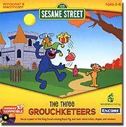 Sesame Street - The Three Grouchketeers by Encore. $14.49. Go on a quest to find King Oscar's missing Royal Pigand learn about colors shapes and numbers.Product Information In this parody of The Three Musketeers King Oscar the Grouch sends TellyZoe and Grover on a quest to find his missing Royal Pig. On the way eachrealizes they have a unique talent: Telly knows a lot about shapes Zoe has away with animals and Grover is an expert reader. And when they cooperate theycan acplish al...