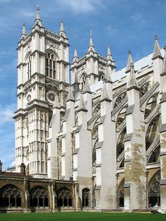 Westminster Abbey, London...Didn't get to see this when I was in London. castl