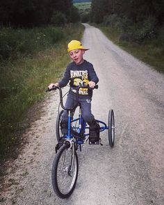 """Evans new trike has opened his world up completely."" Nikki  When a photo can speak thousands of words!! #photooftheday #riding #specialneeds #trikes"