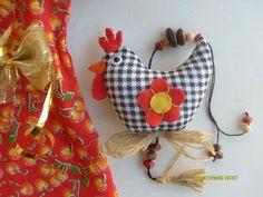 Contos de Outono Artesanatos: Molde de Móbile de Galinha