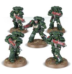Dark Angels Intercessor squad