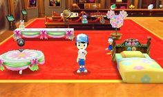 Easter furniture and clothes are now on sale in McDuck's.