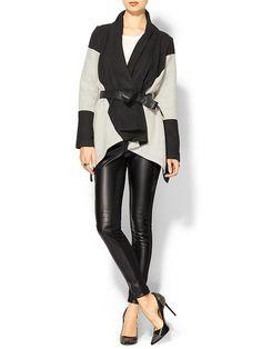 Very Olivia Pope.. Love it!!  Piperlime | Eleanor Wrap Coat