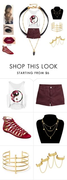 """""""DARK AND BUBBY"""" by ymargaret216 on Polyvore featuring Jimmy Choo, BauXo, House of Harlow 1960 and Smashbox"""