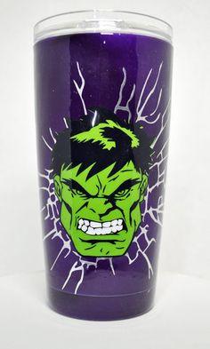 The Incredible Hulk 20oz Stainless Steel Tumbler