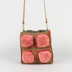 Crochet Tote, Knitted Bags, Artisanal, Bucket Bag, Purses And Bags, Craft Projects, Objects, Paper Crafts, Shoulder Bag