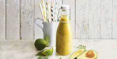 Batido energetico Key Lime Pie Key Lime, Smoothies, Green, Avocado, Vegan Recipes, Juices, Vitamin E, Smoothie