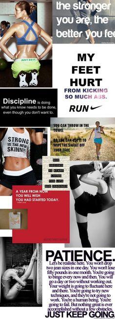 No excuses. Belief. Discipline. Routine. Be Kind.