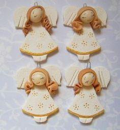 aniołki z masy solnej