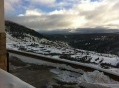Llegó la #nieve a #Gúdar, ¡a disfrutar!