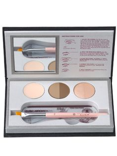 Anastasia Beverly Hills Beauty Express for Brows and Eyes: A travel-size brow-grooming kit (shown here in Brunette)
