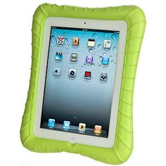 It's a bird, it's a plane... oh no, it's your iPad being dropped. Again. If you have kids (or a klutz) at home, wrap your iPad 2 or new iPad in a Super Shell. The closed-cell foam provides high-impact corners with maximum shock absorption.