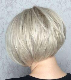 Bob Haircut For Fine Hair, Line Bob Haircut, Bob Hairstyles For Fine Hair, Wedding Hairstyles, Medium Hairstyles, Hairstyles Haircuts, Celebrity Hairstyles, Bobs For Fine Hair, Formal Hairstyles