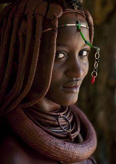 miss mucaniama, himba tribe, angola.