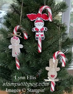 Stampin' Up! Demonstrator stampwithpeg – Candy Cane Lane : Super Quick Christmas Craft Fair Makes This is my last Christmas project this year, I have just done my last craft fair, well not