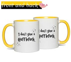 I don't give a Hufflefuck Harry Potter mug. Meaningful Friendship Gifts, Meaningful Gifts, Women Friendship, Book Lovers Gifts, Gifts In A Mug, Gifts For Her, Grandma Mug, Grandmother Gifts, Literary Gifts