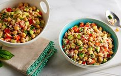 Chickpea Salad with Vinaigrette | Give yourself some energy with an amazing recipe!