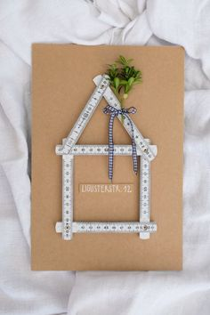 Steckenpferdchenstanze Haus vom Nikolaus Set Das haus
