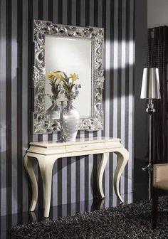 Consolas de madera modelo CASUAL. Decoracion Beltran, tu tienda de muebles de madera para la decoracion de tu hogar. Acceso catalogo online : www.decoracionymadera.com