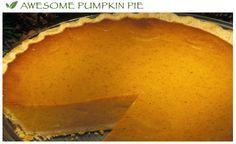 Stevia Pumpkin Pie