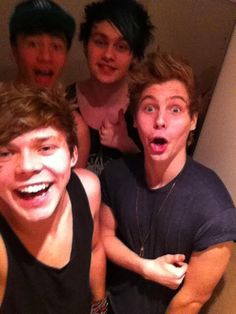 5sos ❤️ I was about to type something about Luke's face, but then notice each of the other guys faces and couldn't leave one out... #cantdecideafavorite
