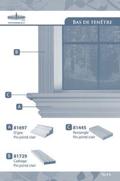 Bas de fenêtre - Portes et fenêtres - Idées de décoration et moulures Boulanger