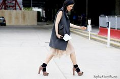 #irinakaufman before #paulsmith #dress #platform #london #lfw #fashionweek #ss15 #mbfw #beauty #street #style #streetstyle #fashion #look #outfit #streetfashion #mode #moda #women