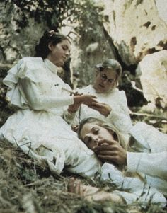 "thedoppelganger:  "" Picnic at Hanging Rock, Peter Weir, 1975  """