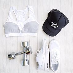 MONOCHROME :: Because black + white is always chic #femmebodyactive #movewithpurpose Monochrome, Black And White, Chic, Polyvore, Image, Collection, Fashion, Woman, Shabby Chic