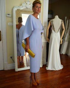 Modest Dresses, Sexy Dresses, Beautiful Dresses, Nice Dresses, Dress Outfits, Fashion Dresses, Mother Of Groom Outfits, Mother Of The Bride Fashion, Dame