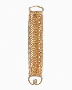 Mixed Chains Bracelet