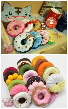 Filz Donuts