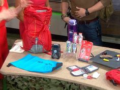 """Grady Powell, Jared Ogden and Daniel Dean from National Geographic Channel's """"Ultimate Survival Alaska"""" reveal must-have items to include..."""