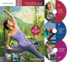Yoga for Weight Loss (Deluxe 3 DVD set with over 30 routines))