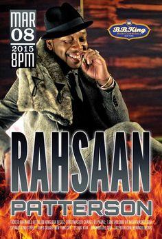 Rahsaan Patterson (3.8.15)