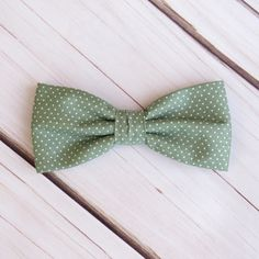 Sage Green Bow tie Polka Dot Spot Pre tied Wedding Bowtie Pocket Square Men Boy Baby Toddler Children Bow tie for Groom Groomsmen by GloiberryBowtie on Etsy https://www.etsy.com/uk/listing/490132185/sage-green-bow-tie-polka-dot-spot-pre