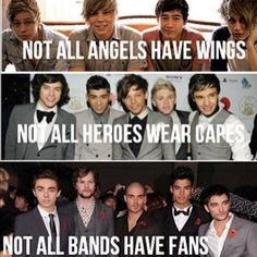 Haha Luke, Ashton, Calum, and Michael are my angels and Harry, Louis, Niall, Liam, and Zayn are my heroes. And The Wanted sucks. XD