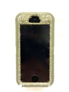 iPhone 5/5s OtterBox Defender Series Case Glitter by NaughtyWoman
