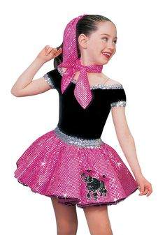 """Summer Nights by: Grease Cast (""""Sandy"""") Tutu Costumes Girls, Fancy Costumes, Grease Dance, Gymnastics Costumes, 1950s Fashion Dresses, Dance Outfits, Dress Outfits, Doll Costume, Halloween Disfraces"""