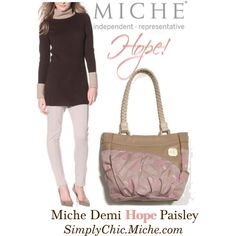 Miche Demi Hope Paisley New for October 2013 $39.95 http://www.simplychicforyou.com/