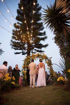 Casamento ao Ar Livre: Luisi e Eduardo