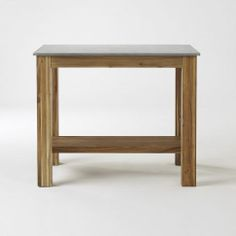 Just used this rustic kitchen island from @west elm in an episode. Keep an eye out for it this spring.