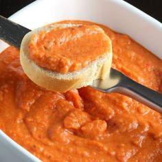 Roasted Red Pepper White Bean Dip