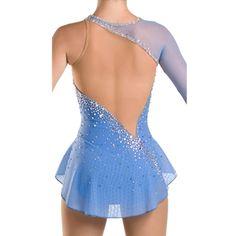 Голубой катанию платье соревнования по фигурному катанию платья для женщин катание на коньках платье конкурс фигурное катание платье купить на AliExpress