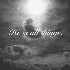 Yes He is!