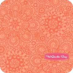 Honey Honey Coral Lace Yardage SKU# 27144-11 - Fat Quarter Shop