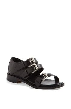 sharp! love the look of buckles and shoes - rag & bone 'Hudson' Sandal available at #Nordstrom