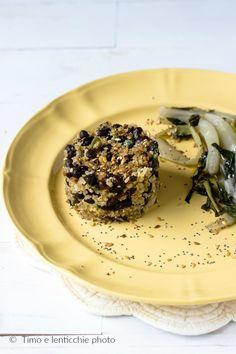 Insalata di quinoa in tortino ricetta velocissima e facile