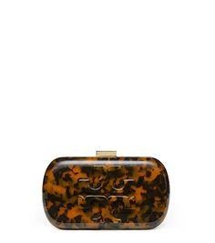 1a0fdf540ad9 LOGO RESIN CLUTCH Oversized Handbags